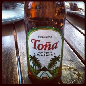Nicaraguan beer. A symbol of Nicaraguan-ness.